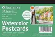 Strathmore 400 Series Watercolour Postcard 15 Cards in Each Pack/3 Packs PER Order