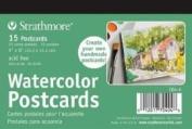 Strathmore 400 Series Watercolour Postcard 15 Cards in Each Pack/3 Packs PER Order