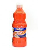 Prang Ready To Use Tempera Paint orange 470ml [PACK OF 4 ]
