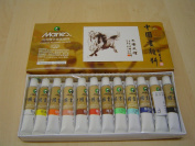 Big Size 12 Colours Marie's Chinese Painting Colour