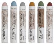 Jack Richeson Shiva Oil Paintstik, Traditional Colours, Set of 6