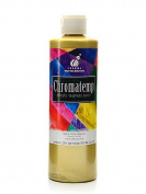 Chroma Inc. ChromaTemp Artists' Tempera Paint metallic gold 500ml [PACK OF 3 ]