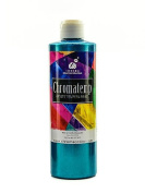 Chroma Inc. ChromaTemp Pearlescent Tempera Paint turquoise 500 ml [PACK OF 3 ]