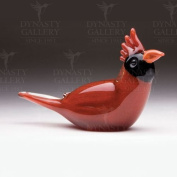 Dynasty Gallery Decorative Glass Red Cardinal Bird