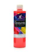 Chroma Inc. ChromaTemp Artists' Tempera Paint fluorescent red 500ml [PACK OF 3 ]