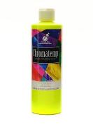 Chroma Inc. ChromaTemp Artists' Tempera Paint fluorescent yellow 500ml [PACK OF 3 ]