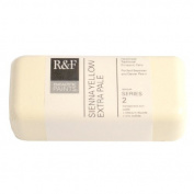R & F Encaustic Paints, 104ml, Sienna Yellow Extra Pale