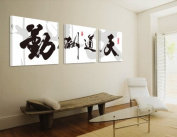 ASIA MODERN ABSTRACT WALL ART PAINTING ON CANVAS NEW Style ! (NO FRAME?with The ancient Chinese art of calligraphy and painting