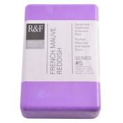 R & F Encaustic 333ml Paint, French Mauve Reddish