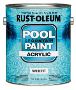 Acrylic Pool And Fountain Paint 3.8lWhite