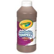 Wholesale CASE of 25. Artista II Tempera Paints-All-Purpose Artista Tempera Paint, Nontoxic, 470ml, Brown