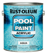 Acrylic Pool And Fountain Paint 3.8lAqua