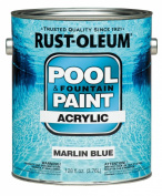 Acrylic Pool And Fountain Paint 3.8lMarlin Blu