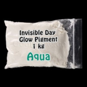 Glominex Invisible Day Glow Pigment 1 kg - Aqua
