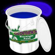 Glominex Blacklight UV Paint Gallon - Blue