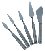 Matisse Derivan Plastic Palette Knives Set of 5 - Grey