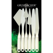 Chartpak Grumbacher Palette Knife Set, 6-Pack