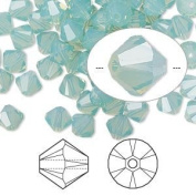 . Crystal 5328 4mm XILION Pacific Opal Bicones - 48 Pack