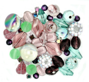 Jesse James Beads 5900 Design Elements African Violet, Multicoloured