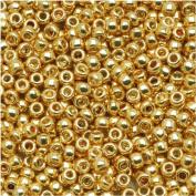 Toho Round Seed Beads 8/0 #PF557 'Galvanised Starlight' 8g