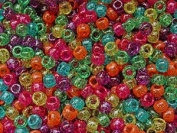 JOLLY STORE Crafts Jelly Sparkle Pony Beads 9x6mm 500pc