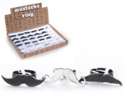 Adjustable Moustache Ring