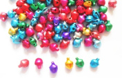 100 Pcs Mix Colour Tiny Bell Charm Size 5 Mm