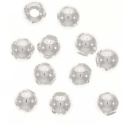 3mm Sterling Silver Round Beads