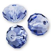 "20 pcs. Crystal 5040 Rondelle 4mm ""Tanzanite"""