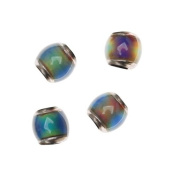 Mirage Colour Changing Mood Beads - Barrel Spacers 7 x 7mm