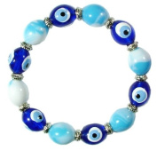 Kids' Turquoise Coloured Evil Eye Bracelet