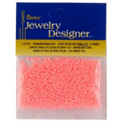 Seed Beads, Ceylon, Lt. Orange