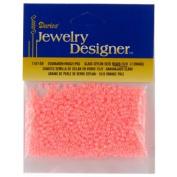 Seed Beads, Ceylon, Lt. Orange