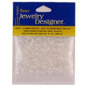 10/0 Seed Beads, 2 Cut Rainbow, Crystal Iris, 20 Gramme Pkg