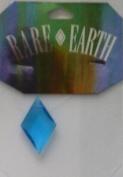 1 pc - 32x20mm Diamond Turquoise/Blue - Rare Earth - 33005-06