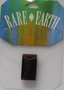 1 Pc - 26x16mm Rectangular Amethyst Bead - Rare Earth - 33009-04