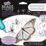 Tulip Beads In A Bottle Iron-On Ink Transfers 16cm x 13cm 1/Pkg-Butterfly