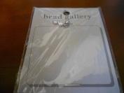 Bead GAllery Steel CZ Round Pendant