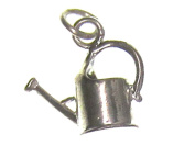 Charm Gallery 77111 Silver Plated Watering Can Charm