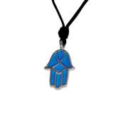 Necklace Pendant Jewellery Hamsa (Hand of God) 5 Handmade Silver Pewter