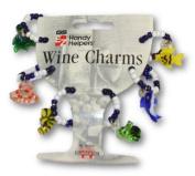 Wine Bottle Charms - Set of Six