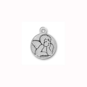 Charm Factory Pewter Raphael's Angel Charm