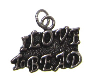 Charm Gallery 77301 Silver Plated I Love to Bead