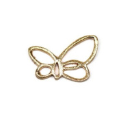 Stones and Findings Exclusive Gold Vermeille Butterfly Charm
