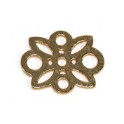 Stones and Findings Exclusive Gold Vermeille Daisy Charm
