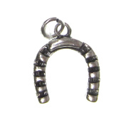 Charm Gallery 77139 Silver Plated Horse Shoe Charm