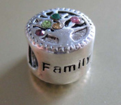 J. Jewellery 925 Solid Sterling Silver Family/Love Charm Bead Fit for Pandora Bracelet