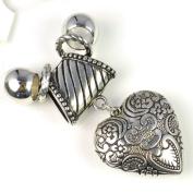 Antique Classic Heart Pendant Jewellery Set Pendant for Scarves,pt-630