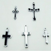 Cross Mixed Lot Charms - Lot of 15 - DIY Jewellery Crafting 8mm