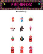 Funweevz Single Loop Charms for Funweevz and Loom Bracelets Group 5